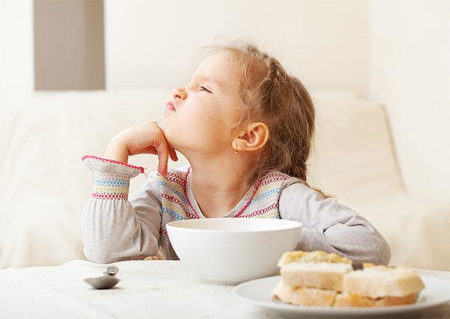 Как поднять ребенку аппетит